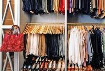 Closets / Space-saving and organizing ideas.  / by Tawsha & Patti (organized CHAOS online)