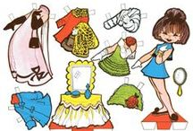 Paper dolls and Papercrafts / by ivonne gutierrez