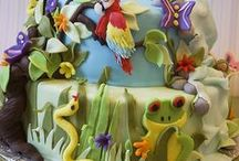 Jungle Birthday Party / by Inlaka