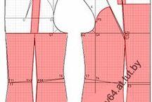 modelagem de roupas / Vestidos, saias e blusas / by lucia Maria Aguiar
