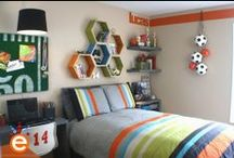 Theme: Soccer / by Kids Bedroom Decorating Ideas