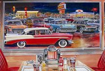 Diners USA ♦️♦️♦️♦️ / Old And New Diners / by Diana California Girl