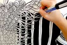 zentangle ideas / by Lynne Howard