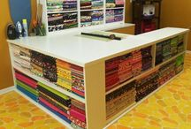 quilt studio / by Trudy Whittaker