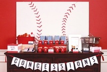 Baseball Birthday Party / by Sweetly Chic Events & Design