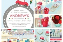 Cars, Trucks and Things That Go! Party / by Sweetly Chic Events & Design