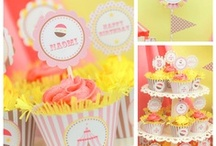 Pink Circus Party / by Sweetly Chic Events & Design