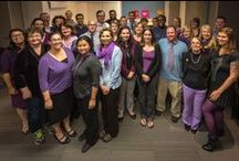 World Mental Health Day 2013 / World Mental Health Day took place on Thursday, October 10, 2013. Did you wearing purple to show your support? The team at Kids Help Phone did!  / by Kids Help Phone