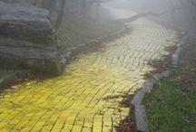 Yellow Bricks / Interpretations of Frank L. Baum's Land of Oz Mythos / by Isaac Stovall