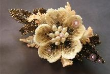 kwiaty koralikowe / by EMNE