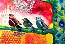 ART Bird Art / by south