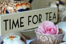 Tea Time / by O Mundo cabe na minha bolsa - AleAna