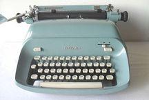 ••typewriter•• / by Nulka