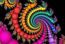 Fractal Fantasy / The colors and the shapes speak to me. / by Donna Hill