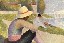 French Art: Georges-Pierre Seurat / by La Petite Suzi Hearts France