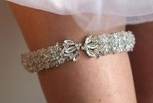 Garters and Wedding Dress Belts / by GINGER GUNTER