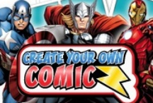 Make Your Own Comics! / For use with the April After School Program.  / by Wood River Public Library