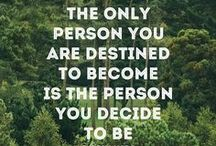 Inspirational Quotes / Quotes to be your best. / by Lisa Holdener-   Desire. Perspire. Inspire.