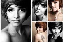 Short and Sassy Hair Styles / Short hair cuts look the best on people with an oval shaped face.  It does not work well with round or heart-shaped faces.   / by Lisa Holdener-   Desire. Perspire. Inspire.
