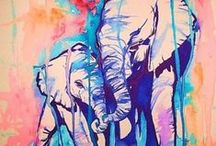 Anything unrelated to Elephants is Irrelephant. / by Kelley Schock