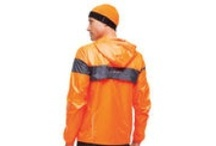 Men's Outfit: Lite & Brite / You can't be safe if you can't be seen. Get noticed in the NightLife LSD Lite Jacket and the Infiniti Beanie in Brite Orange. With strategic hits of reflectivity and look-at-me fluorescents, NightLife gear increases your visibility in low-light conditions. / by Brooks Running