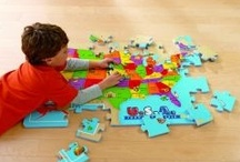 Children's Puzzles / Puzzles have lots of benefits for children of all ages. Some great reasons to buy your children a puzzle are: to brush up their fine motor, language and math skills as well as hand-eye coordination. / by Educate With Toys