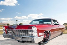Cadillac Pimpin' / Cadillacs of all years, styles, that i enjoy. Modded, classic or rodded. / by Kristi Brake
