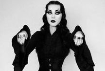 Goth Love / Lovely Goth ladies and fashions. / by Ulcer Magazine