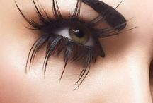 """LASH OUT / """"She was made of flesh and eyelashes.""""~ Leonard Cohen / by l o r r i e t"""