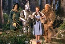 "Movie Night: The Wizard of Oz / It was always a special occasion to get to watch ""The Wizard of Oz"". Very few things were allowed to come between us and evening attendance at Sunday-night church, but the annual playing of this movie was one of them. / by Jan Howard"