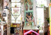 Bohemian Kitchens / Taken from my huge bohemian home board. Thought it be easier to browse if my boho pins where divided by rooms. / by Julie