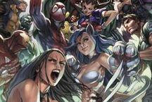 Comics/Villains/Superheroes / Comics, Marvel, DC, Villains, Superheroes, movies, and the actors that play them... Mostly Loki. / by Bianca Hernandez