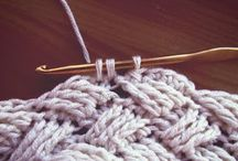 Hook/Needles & Wool / Crochet and knitting. Mostly crochet.. / by Marie M.