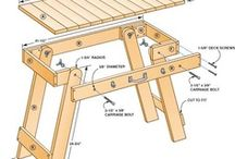 Woodworking, Building and Crafts / by Tom Brace