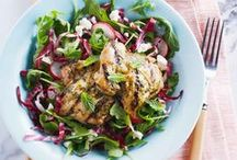 Salad Recipes / Our freshest salad recipes with tasty chicken! / by Canadian Chicken