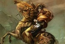 Steampunk Art / Drawings, paintings, sculpture on a steampunk theme. / by Arthur Chenin