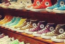 Converse Shoes!!❤️ / There is no way to describe how much I love these shoes!!! <3 / by Veda Conjeevaram