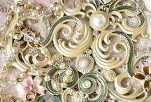 metallic & sparkly / gold-old gold-silver-copper-bronze-platinum / by my beautiful wedding