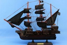 Pirate Ships / by Handcrafted Nautical Decor