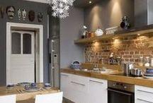 Interiores Cozinha / by Duda Ferro