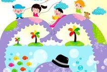 ilustraciones infantiles / by Mileidis Quijada
