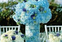 Shades of Blue Wedding Ideas and Inspiration / Bridal bouquets, wedding decor and tablescapes, bridesmaids dresses, and more / by Dream Wedding Show
