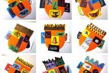Masks and carnival  for kids / by Gordana Sekulić