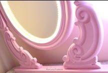 """Mobili dipinti - Il Colore Painted Furniture - Colours / Ogni mobile colorato è dipinto """"su misura"""" per l'ambiente in cui viene inserito. Non esiste un colore bello o brutto. Un colore ci può attrarre più di un altro. Quello che cerchiamo ogni volta è il colore giusto al momento giusto nel posto giusto. / by RiusoDecor Manuela Fiadone"""