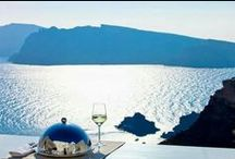 Alta Mare by Andronis - Santorini / High above the sea rests Alta Mare by Andronis, a member of Andronis Luxury Collection. Alta Mare by Andronis is a group of nine suites perched on the cliffs overlooking the deep blue Aegean below. Each suite offers stunning views over the volcano. Each of the suites is located on a different level, according to the traditional architectural style of the island. Alta Mare by Andronis is the ideal place to relax and enjoy a memorable vacation in Santorini.~ www.altamaresantorini.com ~ / by Travelive
