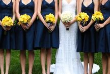 My Dream Wedding: Navy Blue & Yellow / Navy Blue & Yellow / by Brittany