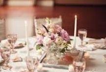 """matrimonio in rosa / ideale per la primavera in tutte le sue sfumature, abbinato al marrone per l'autunno e al grigio-argento per l'inverno.  Essendo un colore molto """"femminile"""" meglio dosarlo con parsimonia, evitando soluzioni """"agli estrogeni"""" imbarazzanti per lo sposo.  / by Elena Facello"""