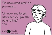 Pin Now, Read Later / by Alysha Lustre
