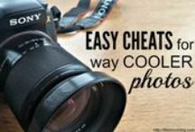 How to's:  Easy cheats for better photos / Tips, tutorials and guides for how to take better photos  / by Lifeblooming.com
