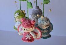 Crochet / Felt Work / Knitting / by Lucy